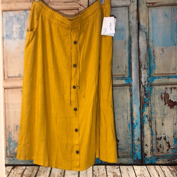 Marsha Mid Length Skirt